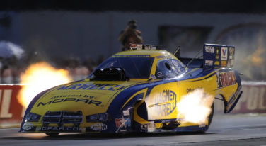 Hagan Again Feels the Force in Funny Car Championship Chase