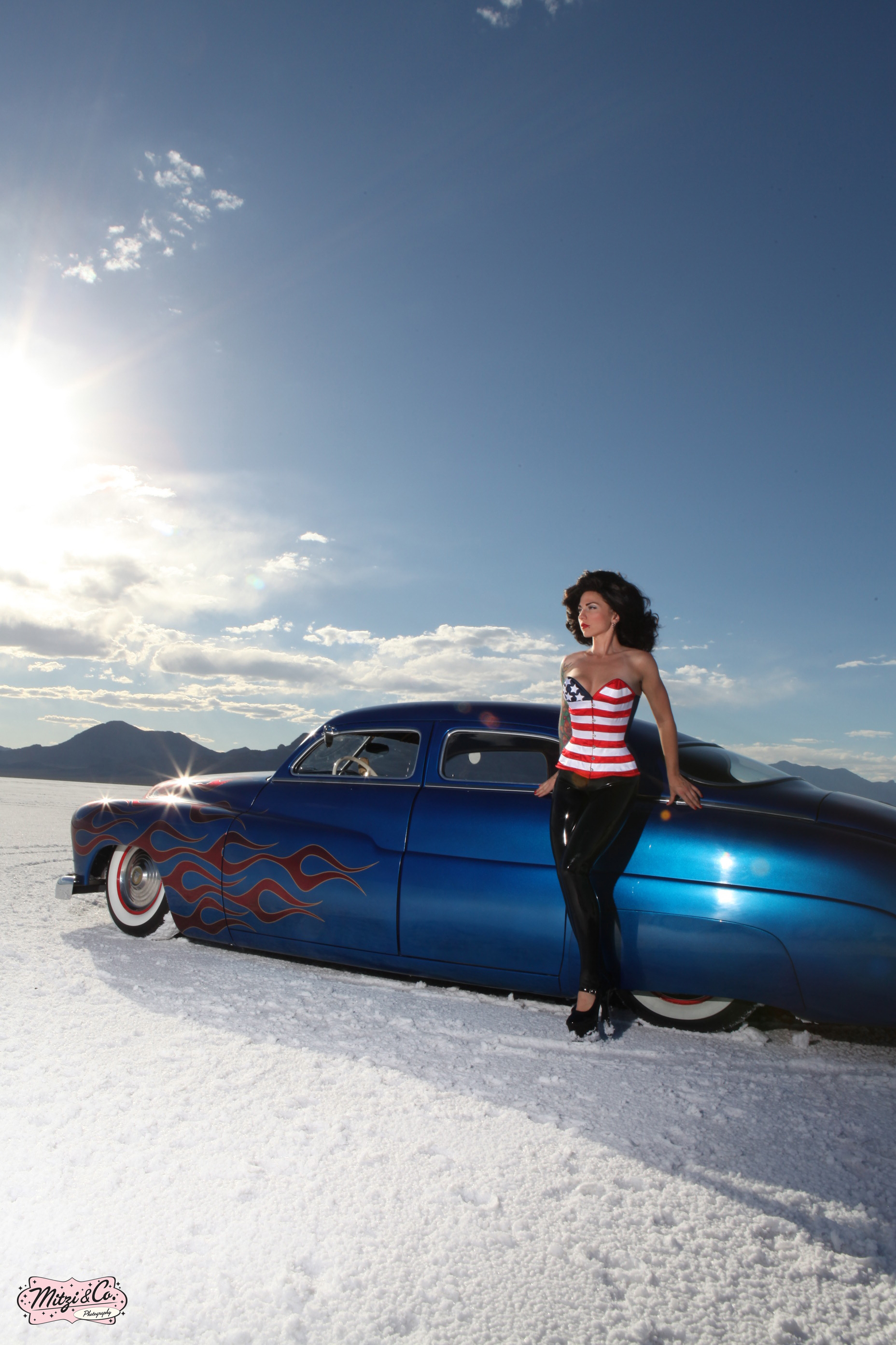 Pinups At The Bonneville Salt Flats Racingjunk News