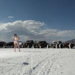Pinups at the Bonneville Salt Flats