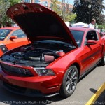 Woodward Dream Cruise: ROUSH Performance Display in Mustang Alley