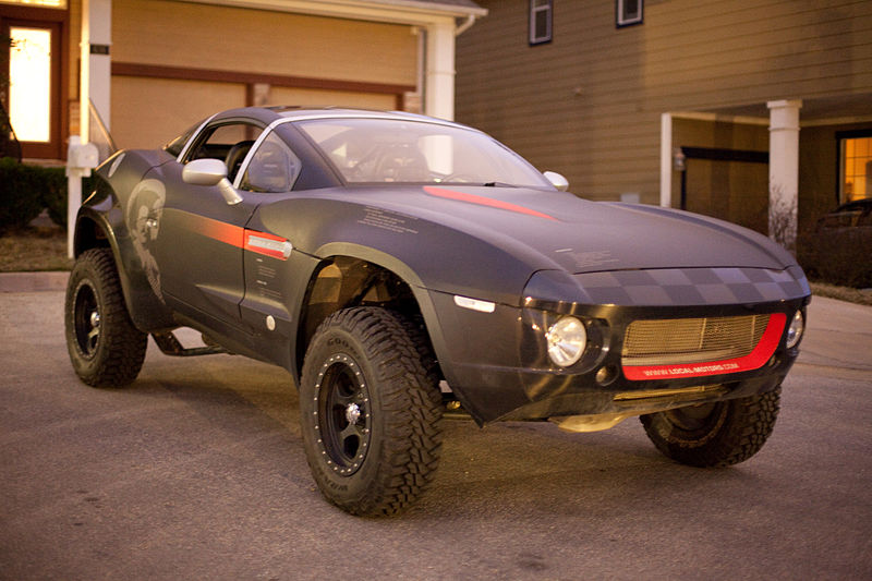 Seven Dream Cars for the Dirt