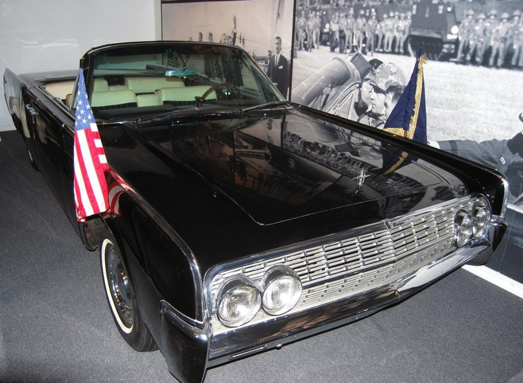A Kennedy car in the Historic Auto Attractions Museum.