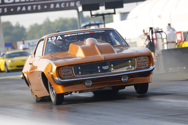 Tom Bailey Makes History With His Six-Second Street-Driven '69 Camaro