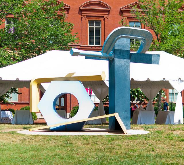 The Tour de Force sculpture in Washington D.C.  Photo by Christopher Hsia