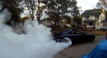 [VIDEO] LSX Trans-Am Pops Smoke