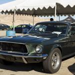 Bullitt Mustang, just for show.