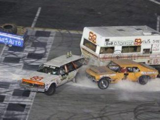 Night of Destruction Trailer Racing
