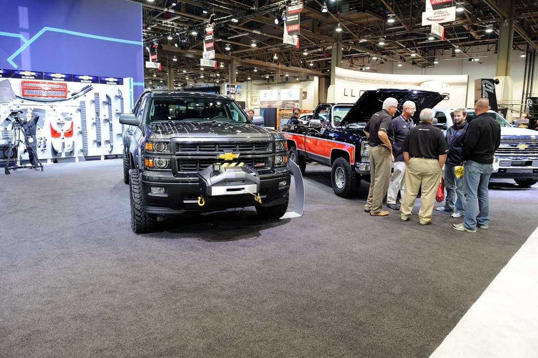 Chevrolet at SEMA 2013-038