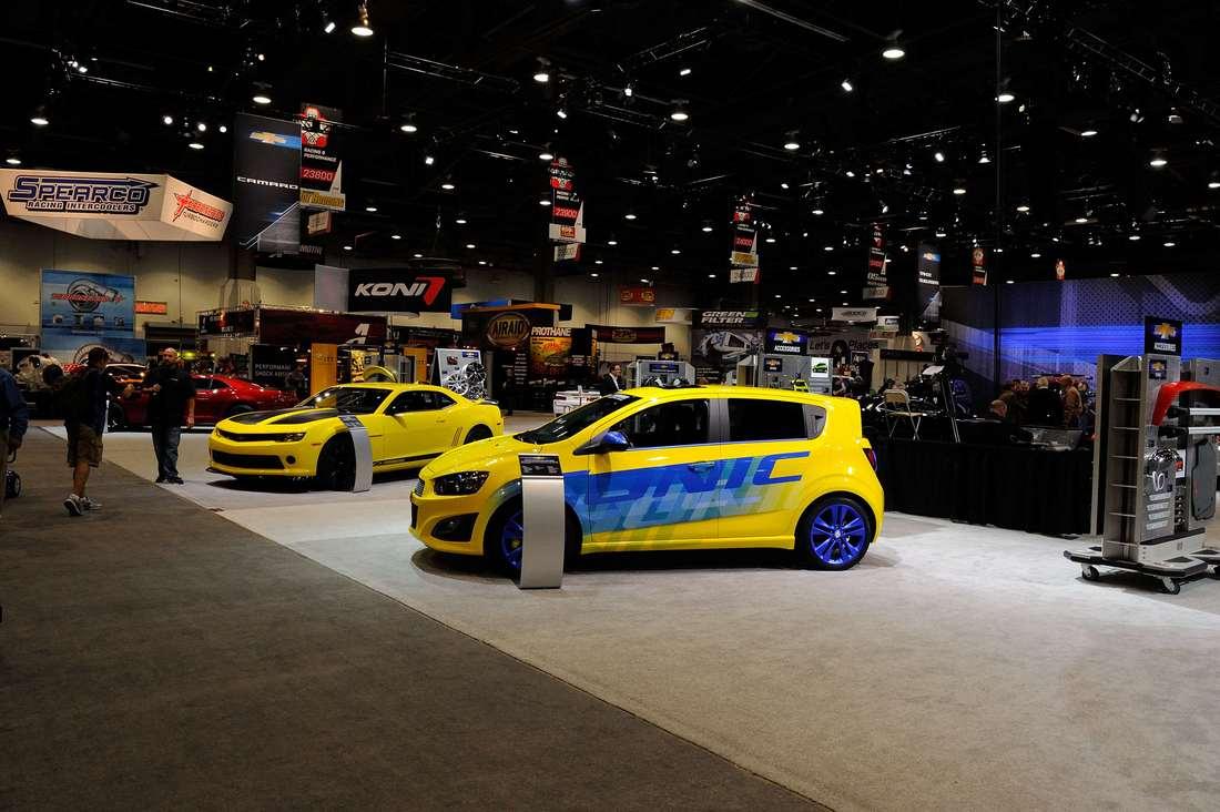Chevrolet at SEMA 2013-057