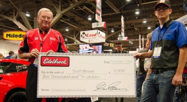 WyoTech Blairsville Student Scott Brown Wins Edelbrock Award