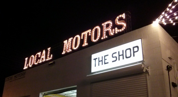Local Motors Las Vegas Microfactory