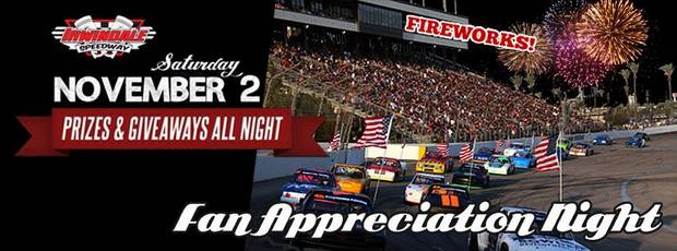 Irwindale fan appreciation night