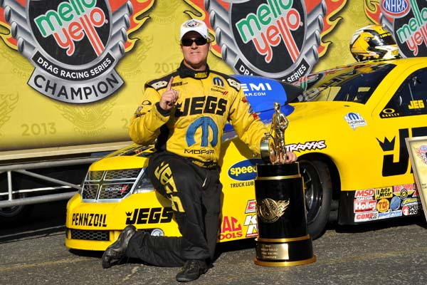 Jeg Coughlin 2013 NHRA Pro Stock Champion
