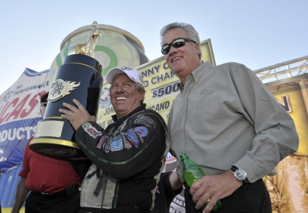 John Force Wins 16th NHRA Funny Car Championship