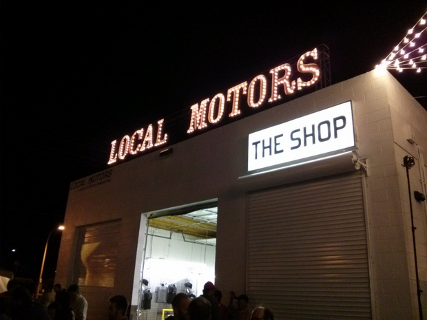 Local Motors Las Vegas Microfactory Launch