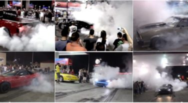 [VIDEO] LS Fest Gas Station Burnout Party