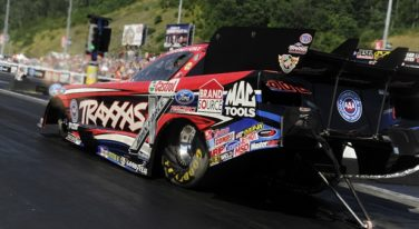 Are NHRA Drivers Athletes? We Asked Them! Take that McNabb!