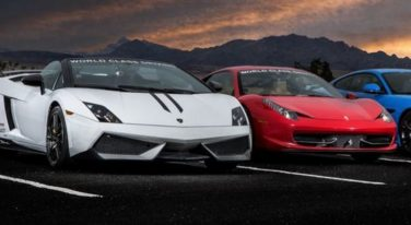 American Muscle Cars versus Italian Exotics Featured Image