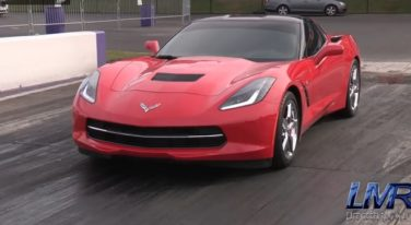 Watch the first 2014 Chevrolet Corvette Stingray to Break into the 9s