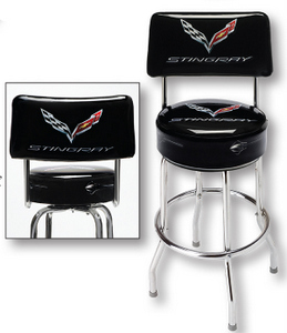 Corvette Stingray stool