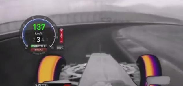 Formula 1 Thermal Imaging