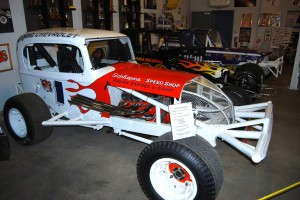 Milwaukee's famous Schlieper's Speed Shop was a sponsor of this 1962 Modified racing car.