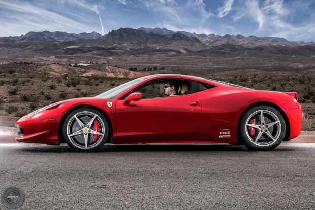 World Class Driving Ferrari 458 Italia