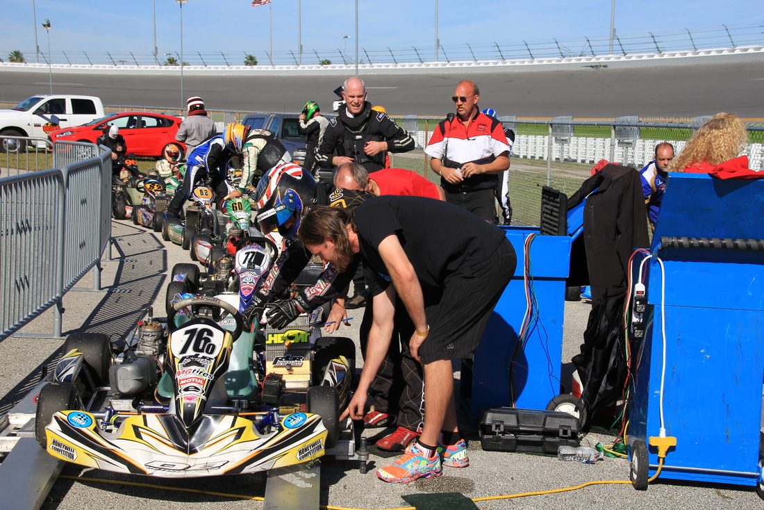 World Karting Races Daytona 195