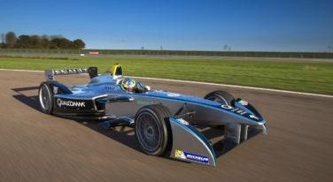 [Video] Formula-E Race Car Debuts at CES 2014