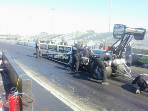 Brittany Force 2014 Top Fuel Dragster