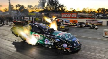 NHRA Pre-Season Testing Kicks Off with Langdon, Brown, Capps and Force