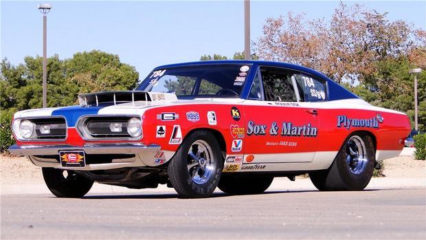 1968 Plymouth Barracuda Hemi Factory Race Car