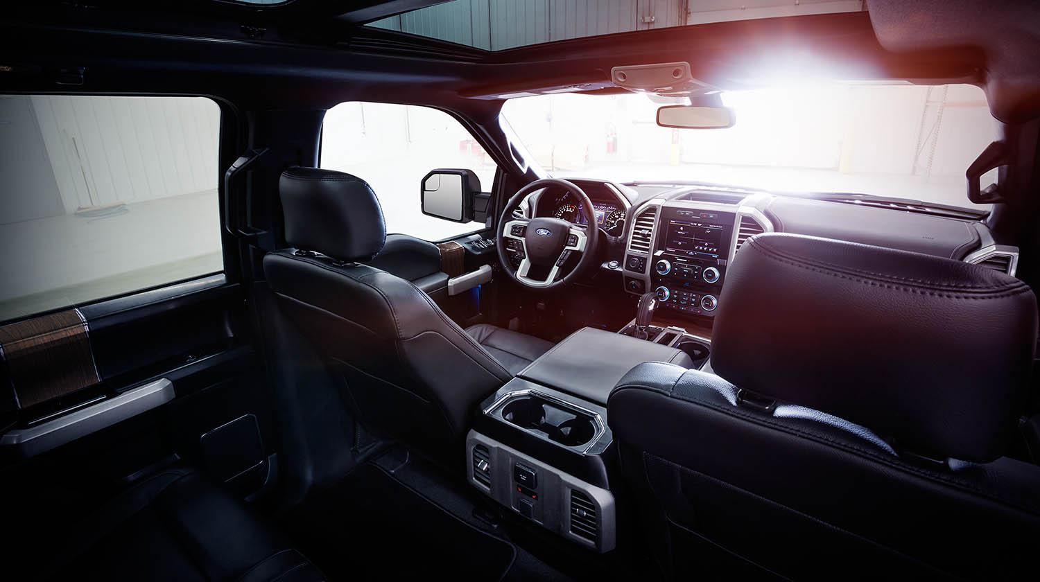 Amazing 2015 Ford F 150 Interior Pictures