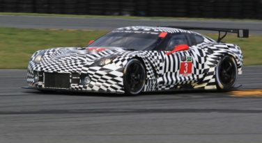 Corvette C7.R Testing at Roar Before the 24