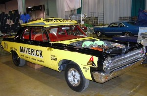"Bill ""Maverick"" Golden drag raced this 1963 aluminum front end Dodge"