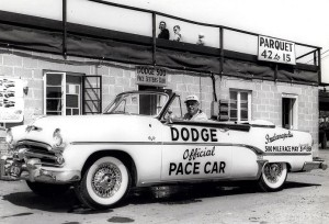 Dodge's racing image started to evolve around 1954 in various ways.