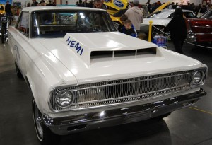 Hemi-powered '65 Coronets like this one were unbeatable on drag strips.