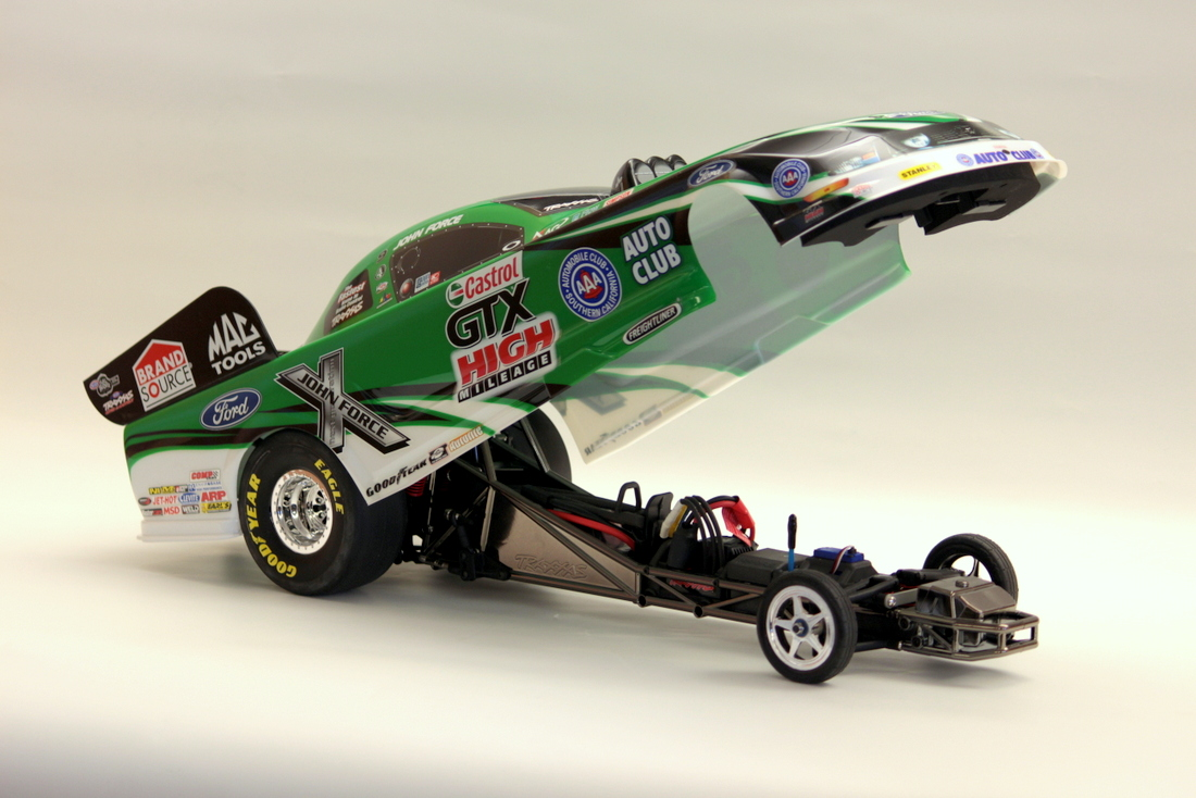 Traxxas NHRA Funny Cars John Force Open