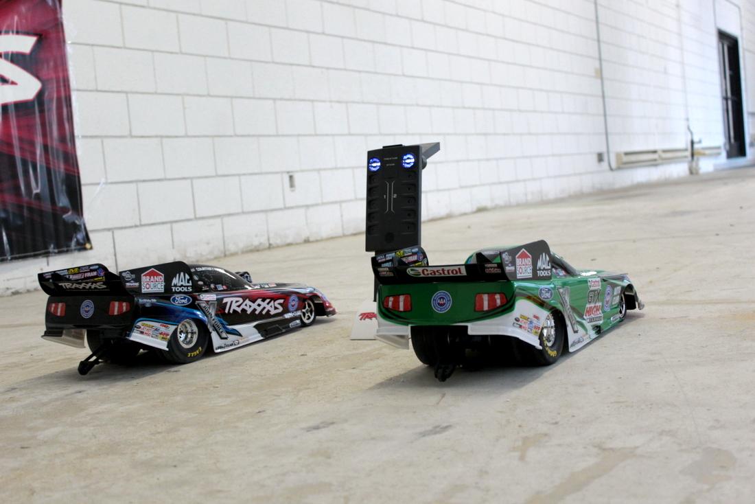 NHRA Funny Car Drag Racing
