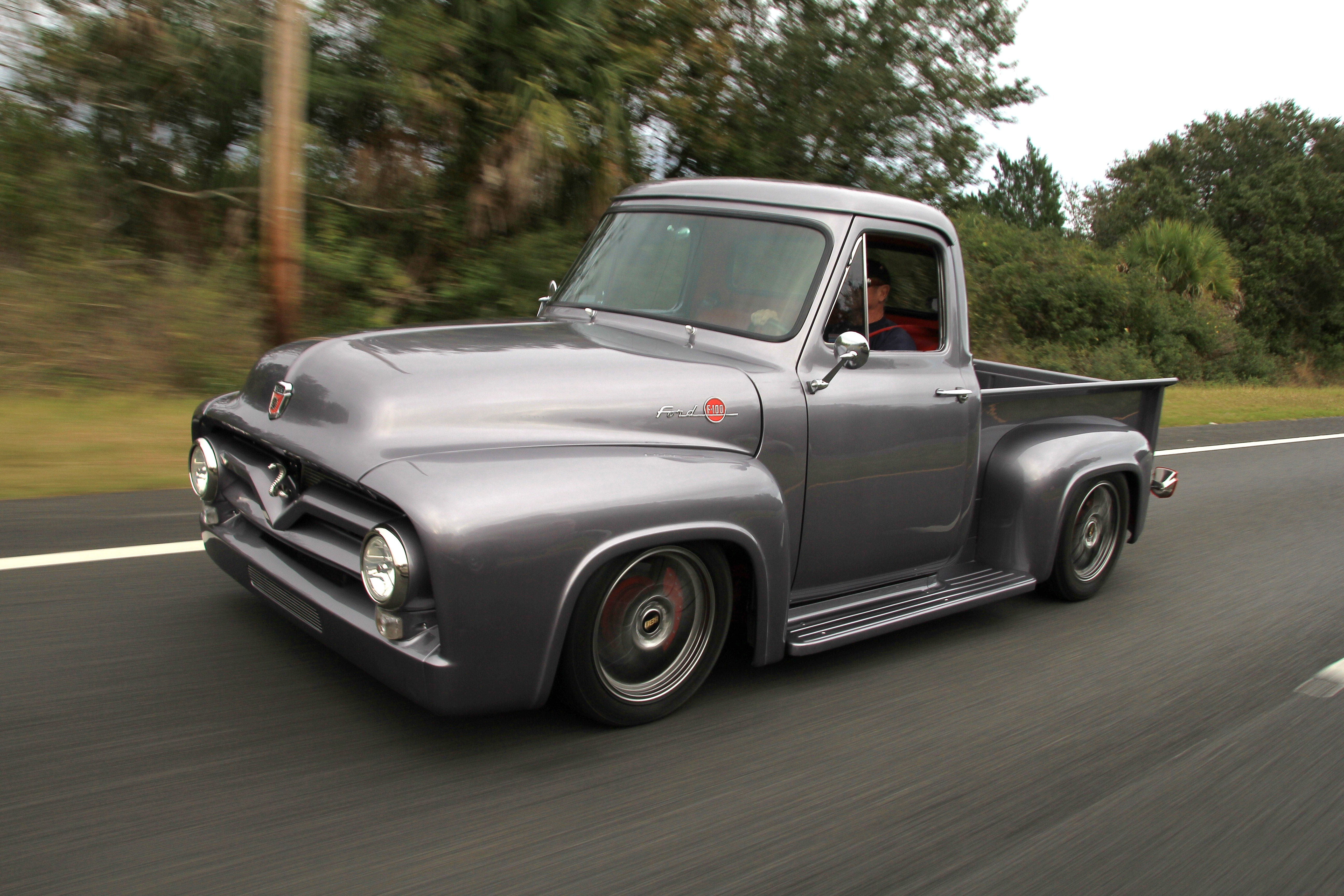 This F 100 Is World Class Fast Racingjunk News 1955 Ford F100 Show Trucks The Details
