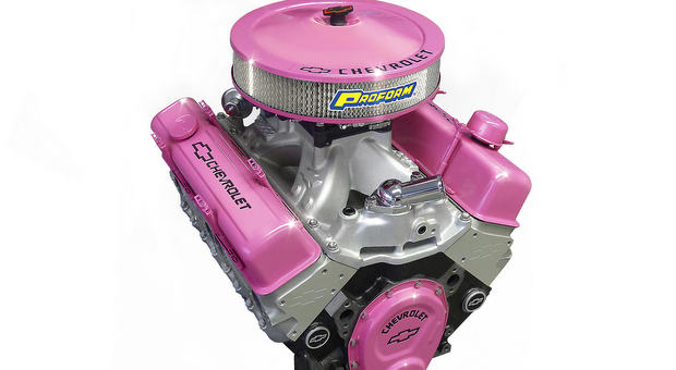 Pink Chevrolet Performance Crate Engine 1