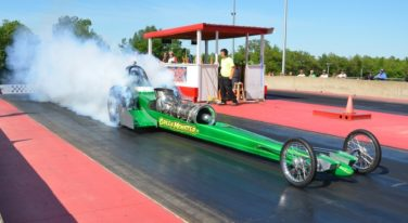 Green Monster Turbine Dragster