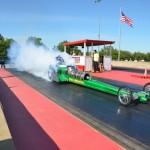 Green Monster Turbine Dragster