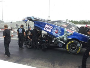 Robert Hight 2014 Auto Club Funny Car