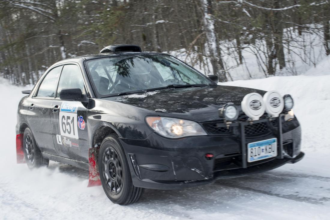 Romance of Rally – Snow Drift-001