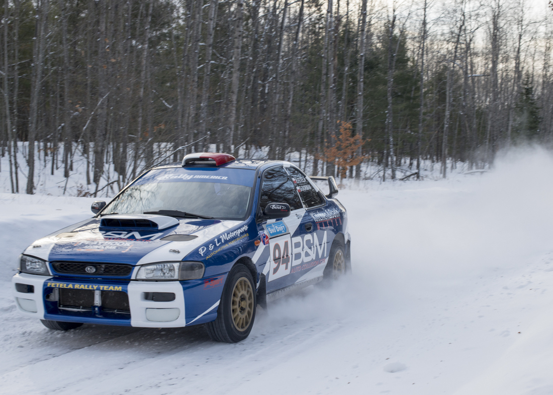 Romance of Rally – Snow Drift