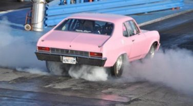 New Year's Day Drag Racing