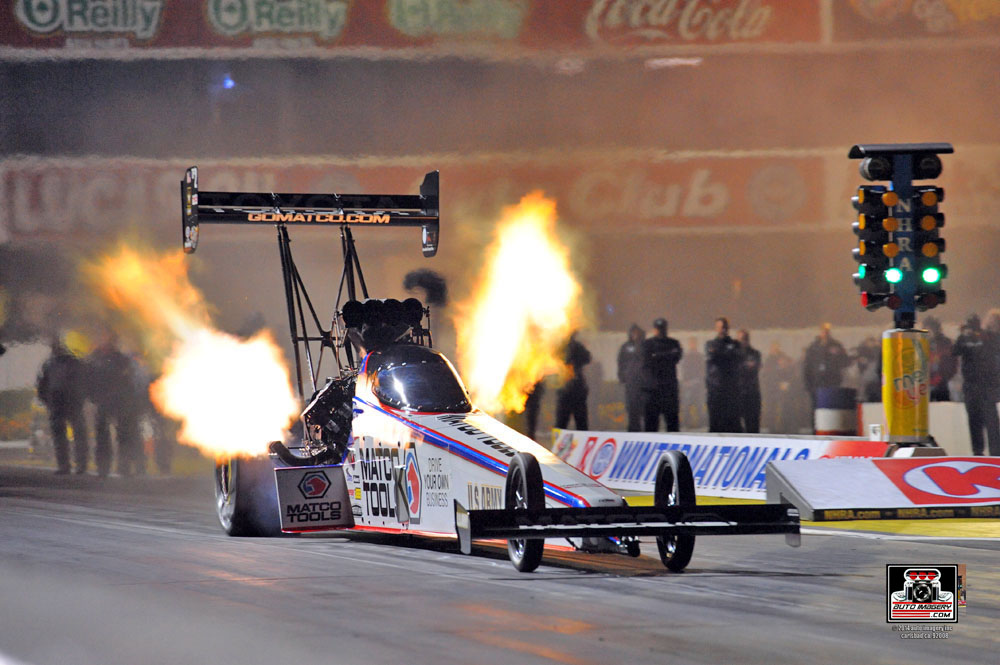 Antron Brown Top Fuel Dragster NHRA-001