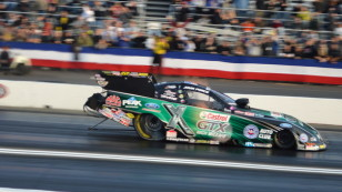 John Force Wins 2014 NHRA Winternationals