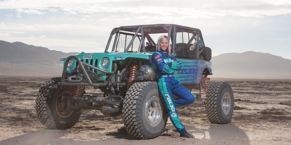 Jessi Combs Falken Tire King of the Hammers